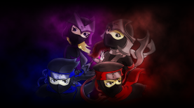 Anime-esque Wallpaper of Ninjas